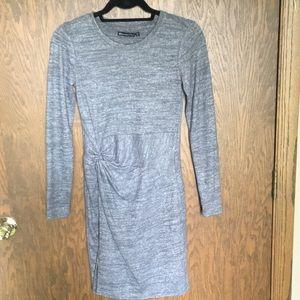 Abercrombie NWT grey dress size XS